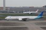 MA~RUさんが、羽田空港で撮影したガルーダ・インドネシア航空 777-3U3/ERの航空フォト(飛行機 写真・画像)