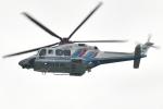 500さんが、四日市港霞ふ頭で撮影した三重県防災航空隊 AW139の航空フォト(写真)