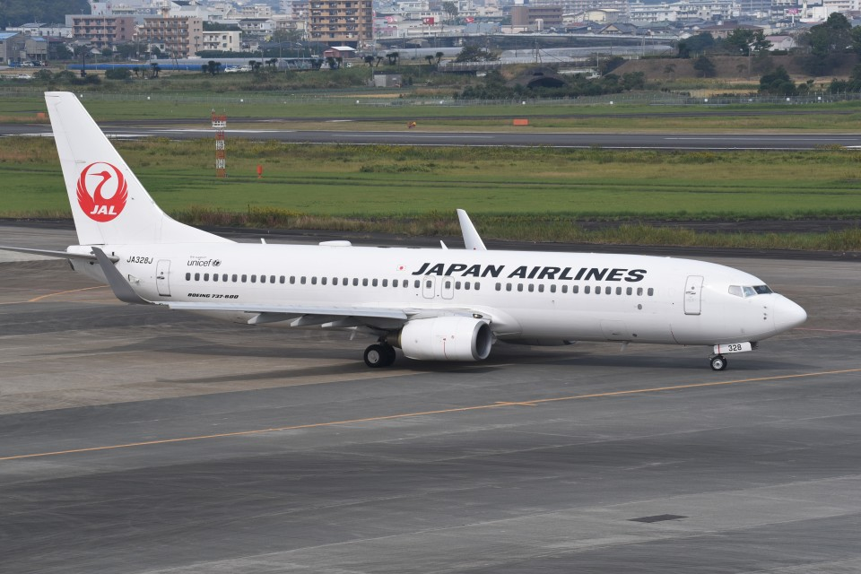 kumagorouさんの日本航空 Boeing 737-800 (JA328J) 航空フォト