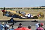 MOR1(新アカウント)さんが、ダックスフォード飛行場で撮影したThe Fighter Collection P-40F Warhawkの航空フォト(飛行機 写真・画像)