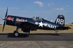 MOR1(新アカウント)さんが、ダックスフォード飛行場で撮影したザ・フライングブルズ F4U-4 Corsairの航空フォト(写真)