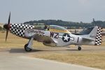 MOR1(新アカウント)さんが、ダックスフォード飛行場で撮影したAnglia Aircraft Restorations ETF-51D Mustangの航空フォト(写真)