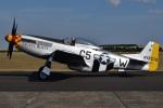 MOR1(新アカウント)さんが、ダックスフォード飛行場で撮影したuntitled P-51D Mustangの航空フォト(写真)