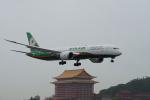 神宮寺ももさんが、台北松山空港で撮影したエバー航空 787-9の航空フォト(飛行機 写真・画像)