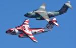 青い翼に鎧武者マークの!さんが、入間飛行場で撮影した航空自衛隊 C-1の航空フォト(写真)