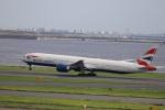 kikiさんが、羽田空港で撮影したブリティッシュ・エアウェイズ 777-36N/ERの航空フォト(写真)
