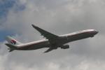 多楽さんが、成田国際空港で撮影したマレーシア航空 A330-322の航空フォト(写真)