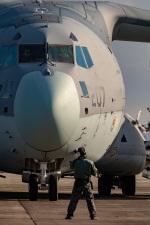まんぼ しりうすさんが、入間飛行場で撮影した航空自衛隊 C-2の航空フォト(写真)