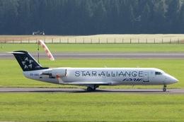 kinsanさんが、リュブリャナ空港で撮影したアドリア航空 CL-600-2B19(CRJ-200LR)の航空フォト(飛行機 写真・画像)
