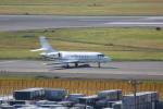 meijeanさんが、成田国際空港で撮影したグローバル・ジェット・チャーターズ Falcon 2000EXの航空フォト(飛行機 写真・画像)
