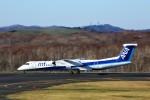 にしやんさんが、釧路空港で撮影したANAウイングス DHC-8-402Q Dash 8の航空フォト(写真)