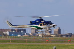 noriphotoさんが、札幌飛行場で撮影した北海道防災航空隊 412の航空フォト(飛行機 写真・画像)