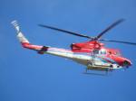ランチパッドさんが、静岡空港で撮影した石川県消防防災航空隊 412EPの航空フォト(写真)