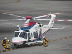 ランチパッドさんが、静岡空港で撮影した三重県防災航空隊 AW139の航空フォト(写真)