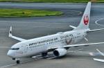 Dojalanaさんが、羽田空港で撮影した日本トランスオーシャン航空 737-8Q3の航空フォト(写真)
