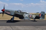 MOR1(新アカウント)さんが、ダックスフォード飛行場で撮影したNorwegian Spitfire Foundation P-51D Mustangの航空フォト(写真)