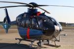 湖景さんが、入間飛行場で撮影した埼玉県警察 EC135P2+の航空フォト(写真)