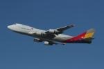 takoyanさんが、ロサンゼルス国際空港で撮影したアシアナ航空 747-48EF/SCDの航空フォト(写真)
