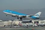 takoyanさんが、ロサンゼルス国際空港で撮影したKLMオランダ航空 747-406Mの航空フォト(写真)