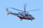 パンダさんが、花巻空港で撮影した岩手県防災航空隊 AW139の航空フォト(写真)
