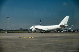 えすろくさんが、シャージャラル国際空港で撮影したアエロトランスカーゴ - Aerotranscargo [ATG] 747-400の航空フォト(飛行機 写真・画像)