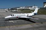 ハミングバードさんが、富山空港で撮影した朝日新聞社 560 Citation Encoreの航空フォト(写真)