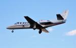 ハミングバードさんが、名古屋飛行場で撮影した朝日新聞社 560 Citation Encoreの航空フォト(写真)