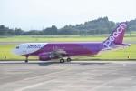 kumagorouさんが、鹿児島空港で撮影したピーチ A320-214の航空フォト(写真)