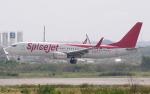 hs-tgjさんが、スワンナプーム国際空港で撮影したスパイスジェット 737-86Jの航空フォト(写真)