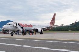 soranchuさんが、ランカウイ国際空港で撮影したマリンド・エア 737-8GPの航空フォト(飛行機 写真・画像)