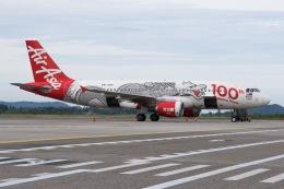 soranchuさんが、ランカウイ国際空港で撮影したエアアジア A320-216の航空フォト(飛行機 写真・画像)