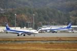 ピーチさんが、岡山空港で撮影した全日空 A321-211の航空フォト(写真)