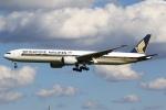 sky-spotterさんが、成田国際空港で撮影したシンガポール航空 777-312/ERの航空フォト(写真)