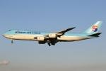 sky-spotterさんが、成田国際空港で撮影した大韓航空 747-8B5F/SCDの航空フォト(写真)
