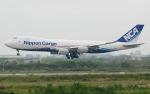 hs-tgjさんが、スワンナプーム国際空港で撮影した日本貨物航空 747-8KZF/SCDの航空フォト(写真)