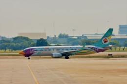 Hiro Satoさんが、ドンムアン空港で撮影したノックエア 737-86Jの航空フォト(飛行機 写真・画像)