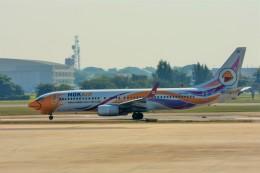 Hiro Satoさんが、ドンムアン空港で撮影したノックエア 737-88Lの航空フォト(飛行機 写真・画像)