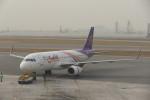 KKiSMさんが、香港国際空港で撮影したタイ・スマイル A320-232の航空フォト(写真)