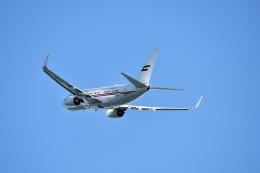 T.Sazenさんが、関西国際空港で撮影したドバイ・ロイヤル・エア・ウィング 737-7E0 BBJの航空フォト(飛行機 写真・画像)
