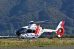 Gambardierさんが、岡南飛行場で撮影した中日本航空 EC135P2の航空フォト(写真)