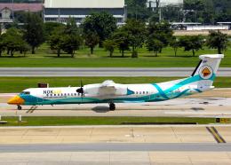 Bokuranさんが、ドンムアン空港で撮影したノックエア DHC-8-402Q Dash 8の航空フォト(飛行機 写真・画像)