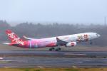 Y-Kenzoさんが、成田国際空港で撮影したタイ・エアアジア・エックス A330-343Xの航空フォト(写真)