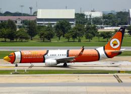 Bokuranさんが、ドンムアン空港で撮影したノックエア 737-83Nの航空フォト(飛行機 写真・画像)