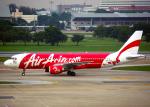 Bokuranさんが、ドンムアン空港で撮影したエアアジア A320-216の航空フォト(写真)