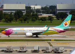 Bokuranさんが、ドンムアン空港で撮影したノックエア 737-86Jの航空フォト(飛行機 写真・画像)