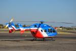 ケツメイシ宮崎~KMIさんが、宮崎空港で撮影した大分県防災航空隊 BK117C-2の航空フォト(写真)