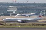 funi9280さんが、羽田空港で撮影した日本航空 777-346/ERの航空フォト(飛行機 写真・画像)