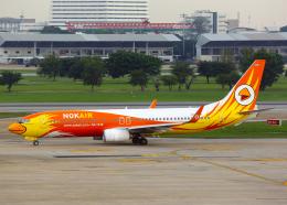 Bokuranさんが、ドンムアン空港で撮影したノックエア 737-88Lの航空フォト(飛行機 写真・画像)