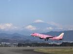 kikiさんが、静岡空港で撮影したフジドリームエアラインズ ERJ-170-200 (ERJ-175STD)の航空フォト(写真)