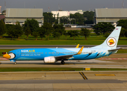 航空フォト:HS-DBD ノックエア 737-800
